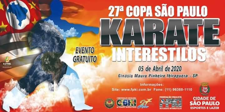 27° copa São Paulo Karatê Interestilos